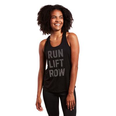 Run Lift Row Sprint Tank