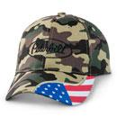 Camo Flag Swipe Hat