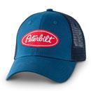 Twill Patch Blue Trucker Hat