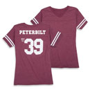 Ladies' Throwback Football Jersey