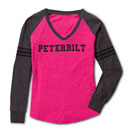 Ladies' Long-Sleeve V-Neck T-Shirt