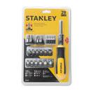 Stanley® 29 Piece Multi-Bit Ratcheting Screwdriver Set