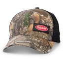 Black Realtree EDGE™ Mini Camo Structured Hat with Rigid Mesh Back