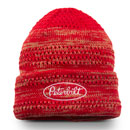 Ladies' Red Marled Cuff Beanie