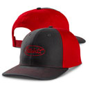 Richardson Twill-Back Trucker Hat - Gray/Red