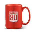 80th Anniversary 14 oz. Ceramic Mug