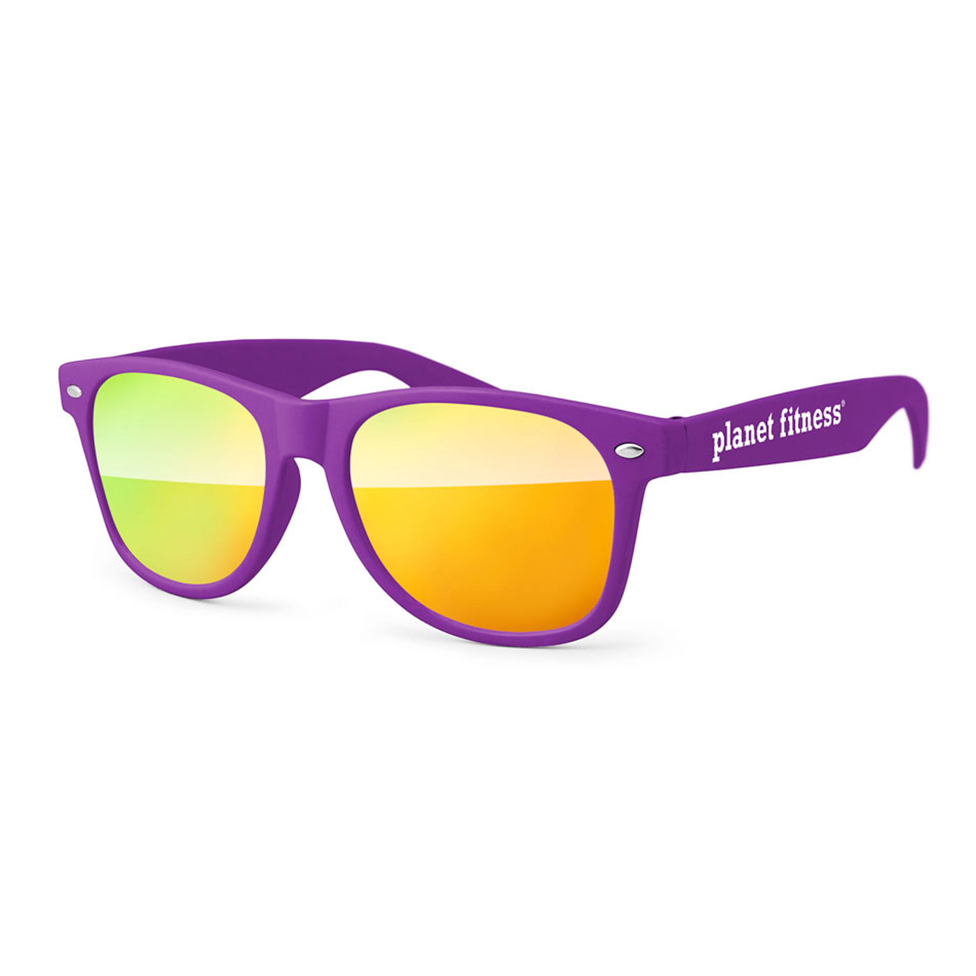 9119b56b8 Retro Mirrored Sunglasses | Planet Fitness Store Canada