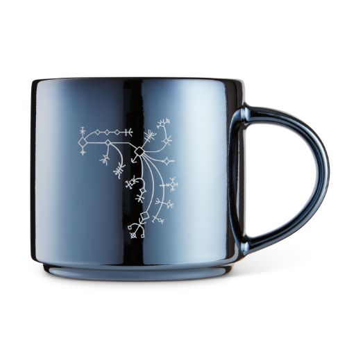 Monoline Design Axe Metallic Mug