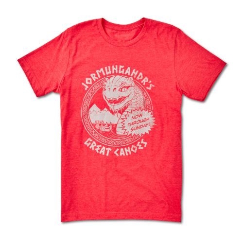 God of War Jormungandr Great Canoes Tee