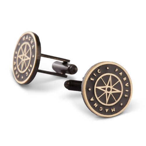 Uncharted Sic Parvis Magna Cufflinks