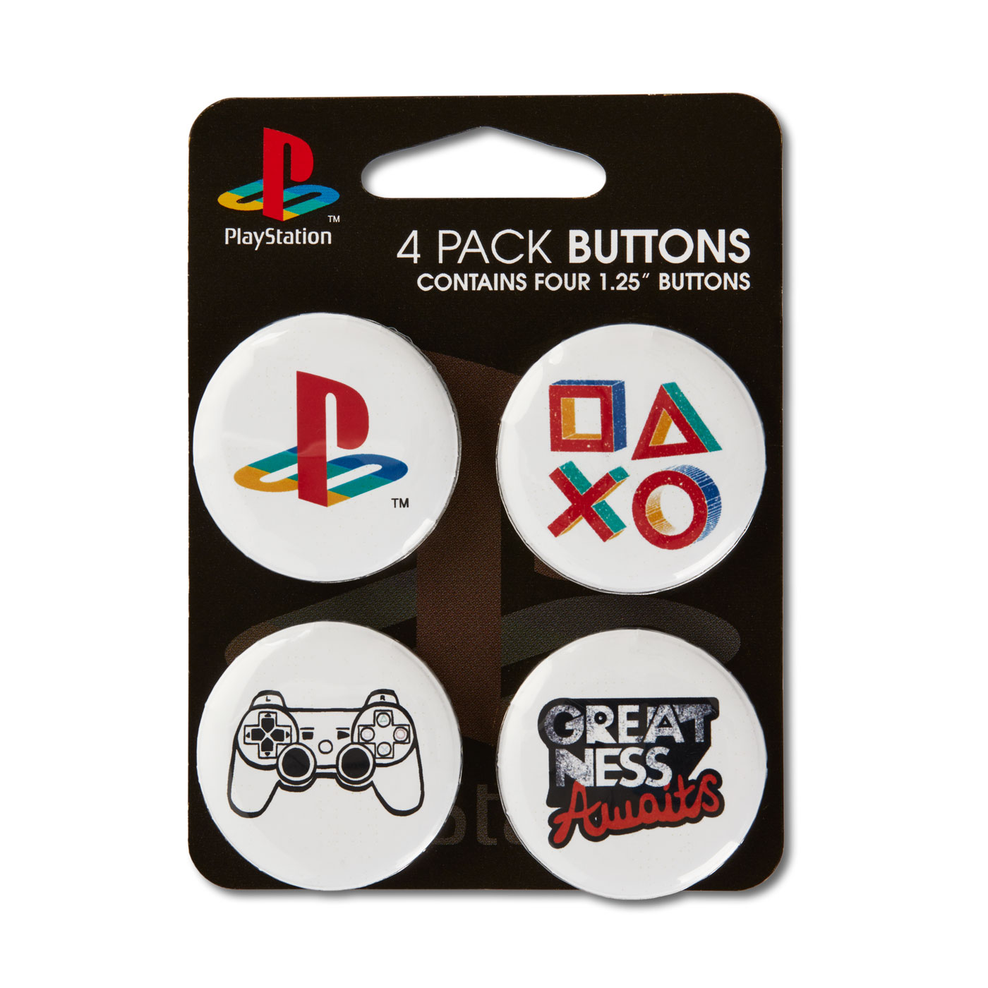 Buttons Inspired by PlayStation | PlayStation Gear