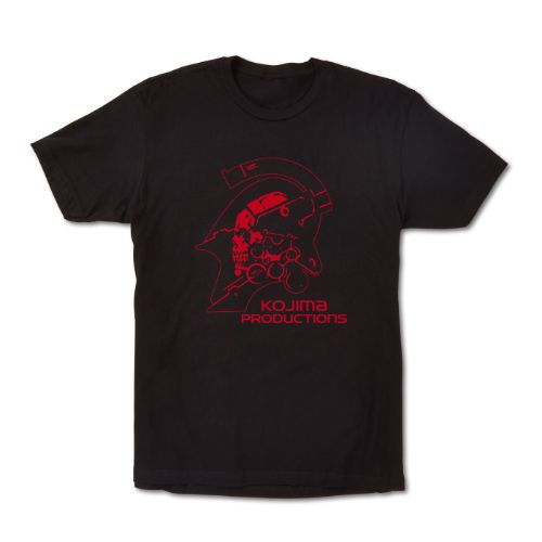 Kojima Productions Logo Tee - Red Variant