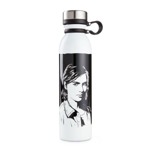 The Last of Us Part II Ellie Graphic Portrait Water Bottle