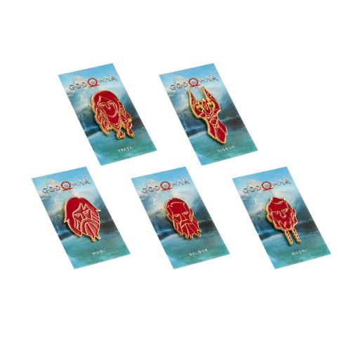 God of War Anniversary Pin Set 2 - Limited Edition