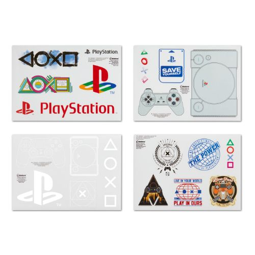 PlayStation Branded Gadget Decals