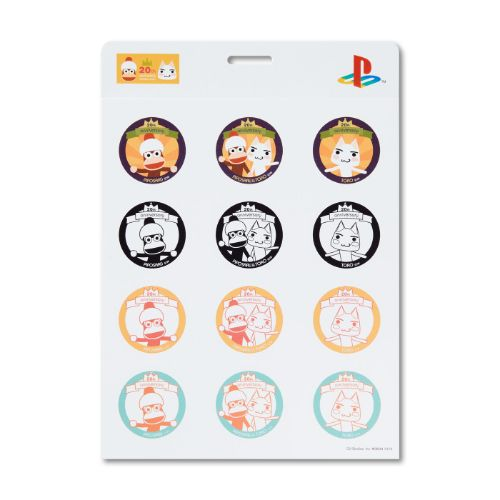 Ape Escape X Doko Demo Issyo 20th Anniversary Sticker Set