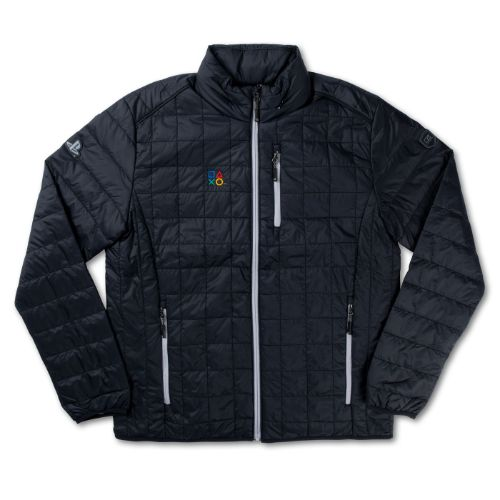 Men's Black Puffer Jacket