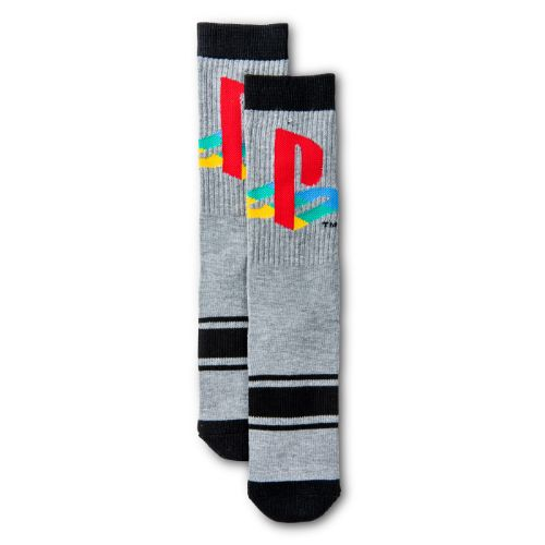 Gray Crew Socks