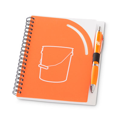 Bucket Journal and Pen