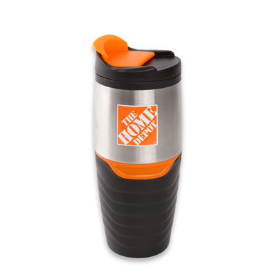 Rubber Grip Stainless Tumbler