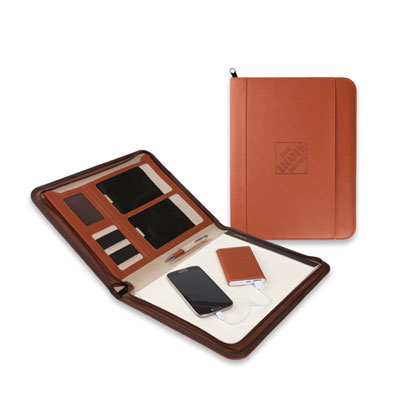Power Bank Padfolio Gift Set