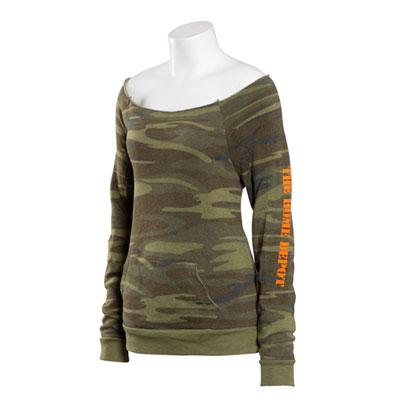 Ladies' Alternative Eco-Fleece Sweatshirt – Camo