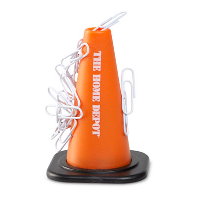 Safety Cone Paper Clip Holder