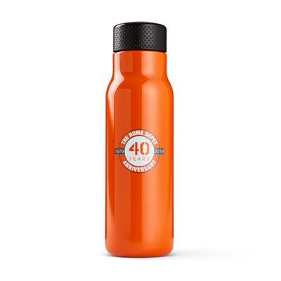 40th Anniversary h2go Stainless Bottle