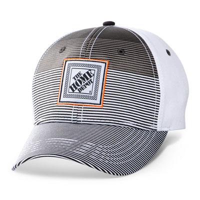 Gradient Stripe Patch Hat