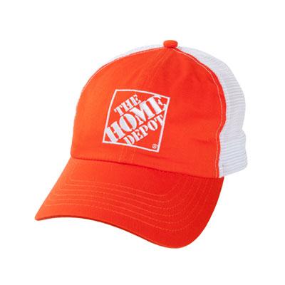 Value Orange Mesh Hat