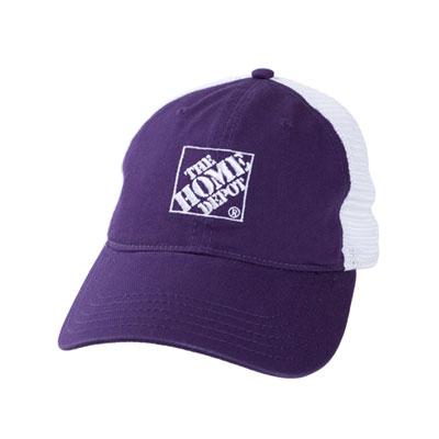 Plum Mesh Hat