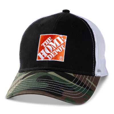 Camo Bill Mesh Hat