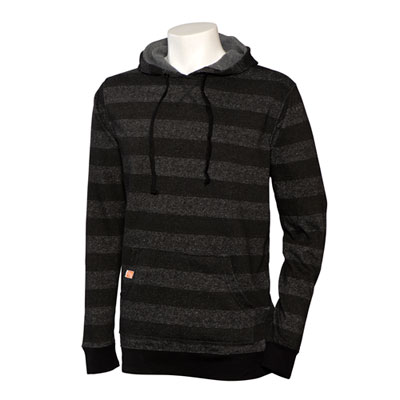 Burnside Striped Marled Hoodie