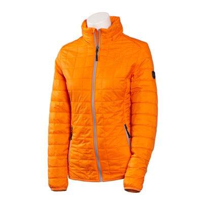 Ladies Orange Rainier Jacket