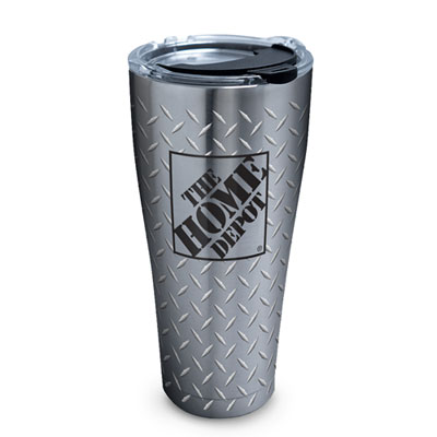 Stainless Steel Diamond Plate Tervis Tumbler