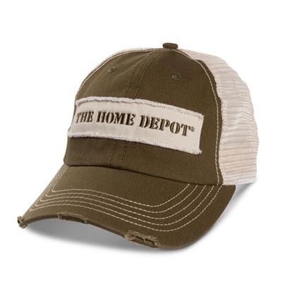 Distressed Visor Hat