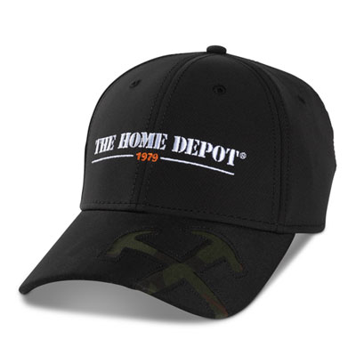 Fitted Performance Hat with Camo Cut-Out Tools