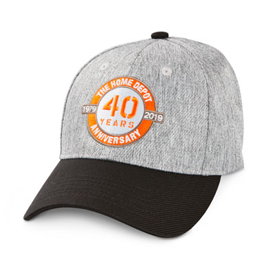 40th Anniversary Heathered Fabric Hat