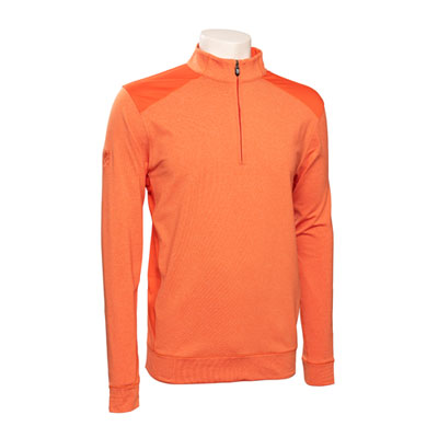 Mens Cutter & Buck Colorblock Half Zip