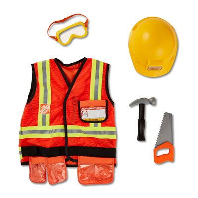 Melissa and Doug® Construction Worker Costume