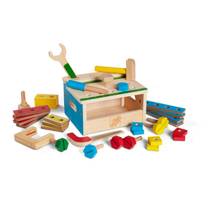 Melissa and Doug® Hammer and Saw Mini Tool Bench