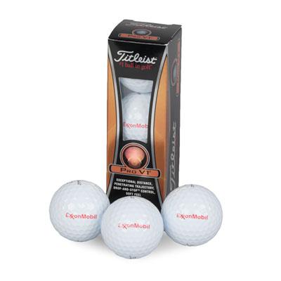 Titleist® Pro V1® golf balls (Sleeve of 3)