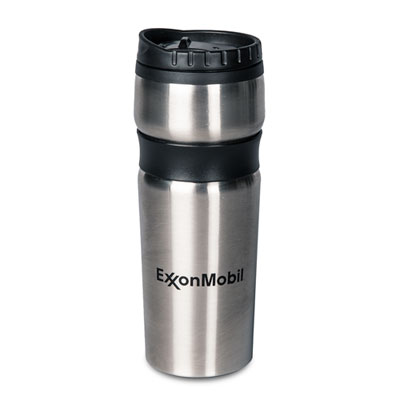Grip-right stainless tumbler