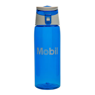 Flip out sport bottle