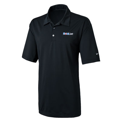 Men's Nike® Diamond black polo