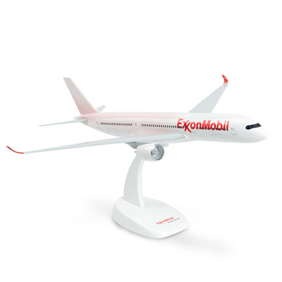 Airbus A350 model plane