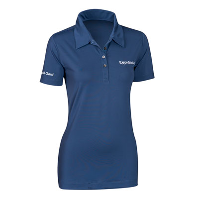 Ladies' Nike® sphere dry blue polo