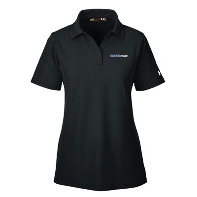 Ladies' Mobil Grease™ Under Armour® black polo