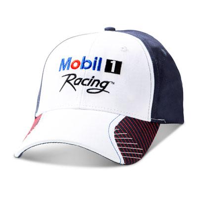 White contrast stitch cap