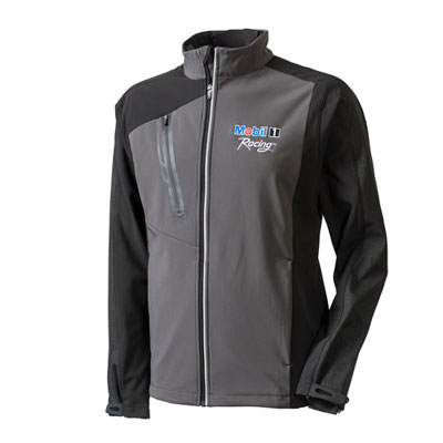 Men's terrain color-block softshell jacket
